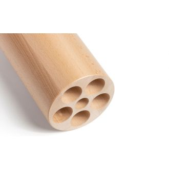 Fascia roll made of beech wood, intensive massage