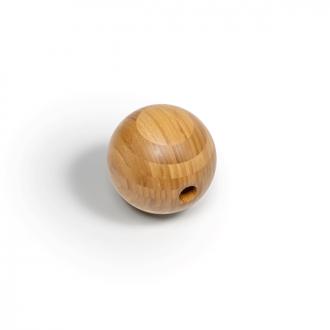 große Faszienkugel aus Bambus, intensive Massage