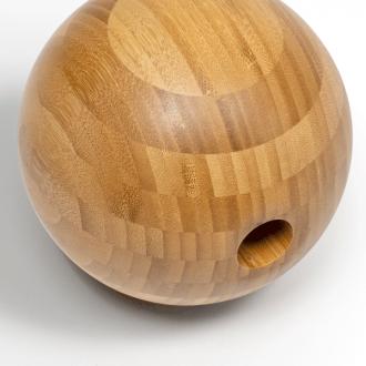 big fascia ball made of bamboo, intensive massage