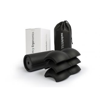 Fascia training - starter set  -  switchROLL incl. extension set double ball hard, for exchange