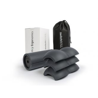 Fascia training - starter set - switchROLL incl. extension set, double ball, soft - for exchange