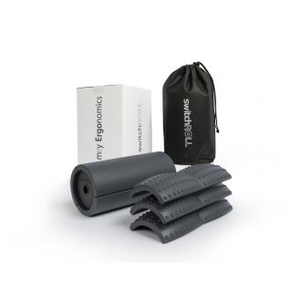 Fascia training -starter set  -  switchROLL incl. extension set small grooves, soft - for exchange