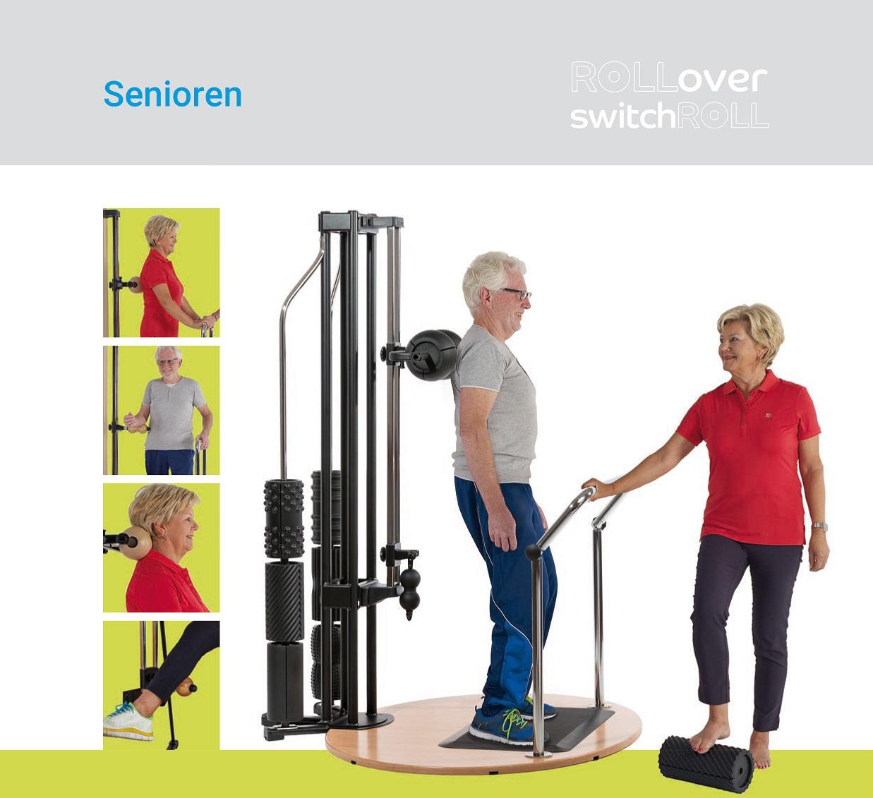 Faszientraining für Senioren für mehr Beweglichkkeit